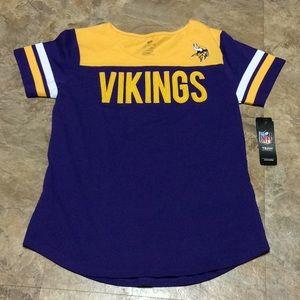 Minnesota Vikings NFL juniors T-shirt NWT!